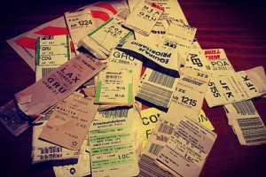 Boarding pass collection